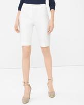 White House Black Market 11 1/2-inch Premium Bi-Stretch Bermuda Shorts