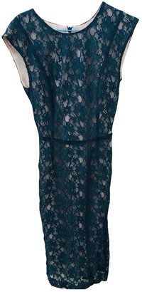 French Connection Green Lace Dress for Women