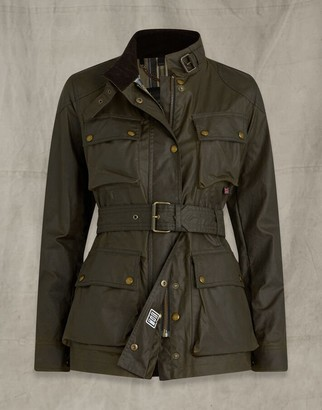 Belstaff TRIALMASTER JACKET Green UK 4 /