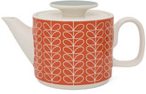 Orla Kiely Linear Stem Teapot - Tomato