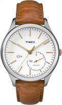 Timex IQ+ Move Brown Analog Smartwatch Activity Tracker-TW2P94700F5