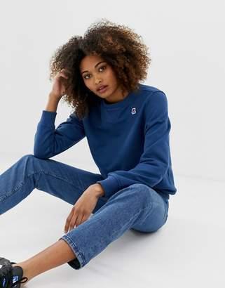 K-Way K Way augustine logo sweater-Blue