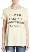 Wildfox Couture Somewhere Sunny Graphic Tee