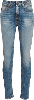 R 13 Alison High-Rise Skinny Jeans