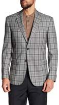JB Britches Classic Fit Plaid Wool Sportcoat
