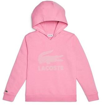Lacoste Little Girl's & Girl's Logo Sweatshirt