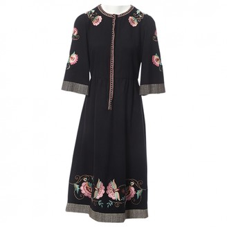 Vilshenko Black Wool Dresses