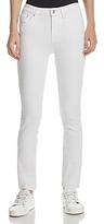 Derek Lam 10 Crosby Devi Mid-Rise Authentic Skinny Jeans in White