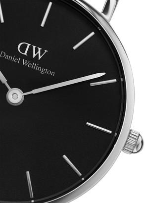 Daniel Wellington Petite Bondi Stainless Steel Leather-Strap Watch