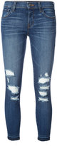 J Brand distressed skinny jeans - women - Cotton/Polyurethane - 24
