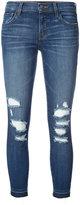 J Brand distressed skinny jeans - women - Cotton/Polyurethane - 25