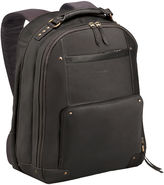 JCPenney Solo SOLO Vintage Leather Laptop Backpack