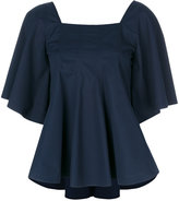 Joseph pleated blouse