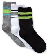 Class Club 3-Pack Tube Crew Socks
