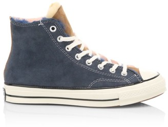 Converse Chuck 70 Shearling-Lined High-Top Sneakers