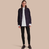 Burberry Suede Workwear Jacket
