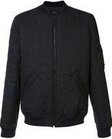 A.P.C. padded bomber jacket