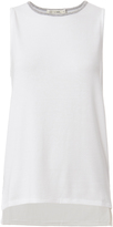 Rag & Bone Oasis Grey Trim Knit Tank