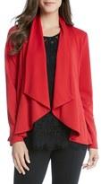 Karen Kane Women's Ponte Drape Collar Jacket