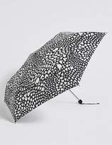 Marks and Spencer Heart Print Umbrella with StormwearTM