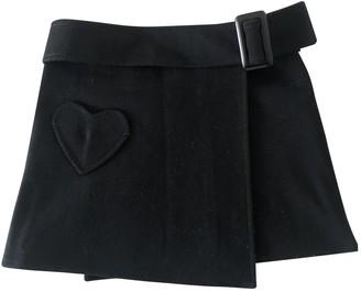 Christian Dior Black Cotton Skirts