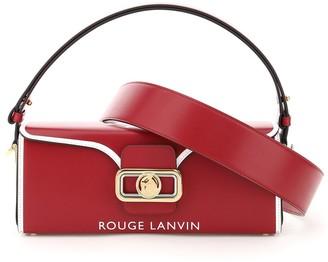 Lanvin Pencil Logo Print Tote Bag