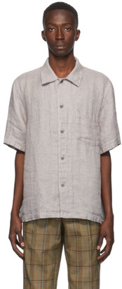 Our Legacy Grey Box Short Sleeve Shirt