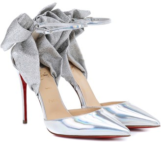 Christian Louboutin Exclusive to Mytheresa a Theresa Nodo 100 leather pumps