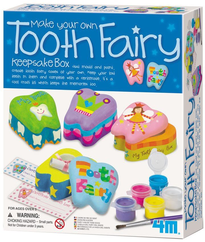 Toysmith 4M Tooth Fairy Keepsake Box