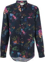 Paul Smith floral print shirt - men - Cotton/Linen/Flax - M