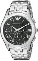 Emporio Armani Men's AR1786 Classic Analog Display Analog Quartz Silver Watch