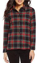 Pendleton Stewart Tartan Point Collar Woven Plaid Shirt