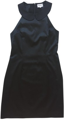 American Retro Black Cotton Dress for Women