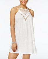 Roxy Juniors' I Knew From U Lace Inset Halter Dress