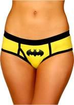Superhero Licensed Goods Batman Boyshort Panty with Foil Logo