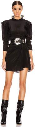 Etoile Isabel Marant Yoana Dress in Black | FWRD