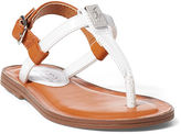 Ralph Lauren Toddler Gala Patent T-Strap Sandal
