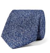 Turnbull & Asser - 8cm Floral Silk-jacquard Tie