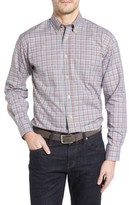 Robert Talbott Men's Anderson Classic Fit Plaid Oxford Sport Shirt