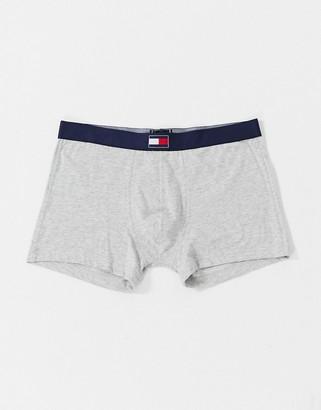 Tommy Hilfiger logo trunks in grey