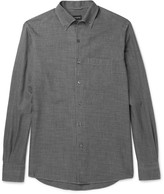 Ermenegildo Zegna - Button-down Collar Cotton Shirt