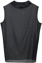 Fabiana Filippi net sleeveless blouse
