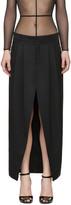 Saint Laurent Black Deconstructed Skirt