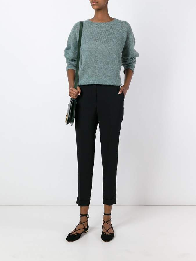 Etro cuffed trousers