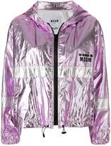 MSGM X Diadora metallic sports jacket