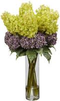 Asstd National Brand Nearly Natural Giant Mixed Hydrangea Silk Flower Arrangement