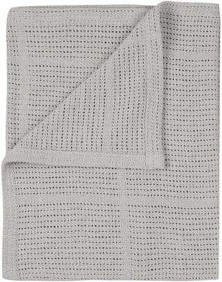 John Lewis & Partners Baby Cellular Pram Blanket, 90 x 70cm