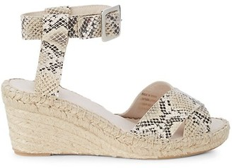 Saks Fifth Avenue Persi Wedge Sandals