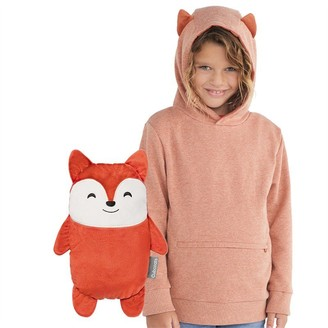 Cubcoats 2-IN-1 PULLOVER HOODIE - Size 4 - 5T - FLYNN FOX