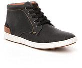 Steve Madden Men's Fractal Perforated High Top Sneakers